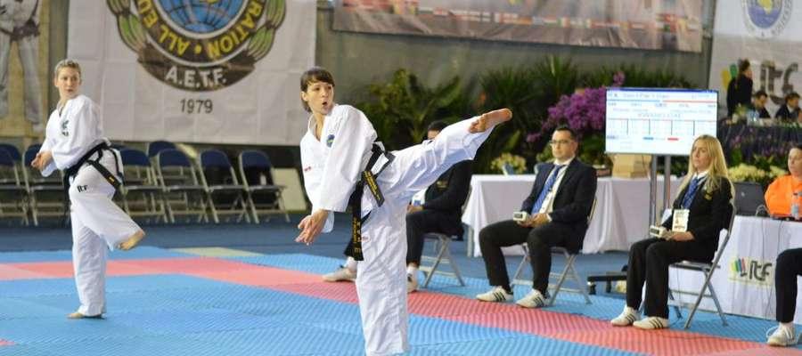 Anna Dąbrówska trenuje taekwondo już od 14 lat.