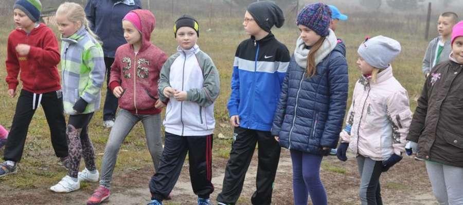 Dzieci również startowały w biegach u Brata Jana