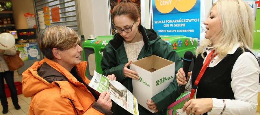 Zbiórka pieniędzy dla dzieci podczas urodzin Intermarche