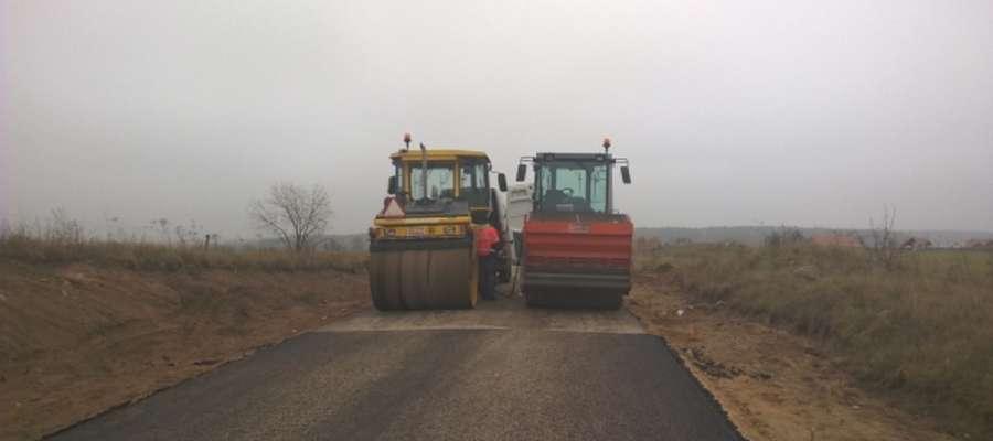 Przebudowa drogi Wejdyki - Krzyżany