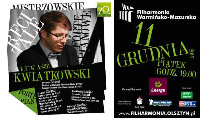 Recital Łukasza Kwiatkowskiego w filharmonii - full image