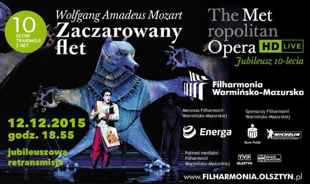 Metropolitan Opera Live in HD: Zaczarowany flet Mozarta  - full image