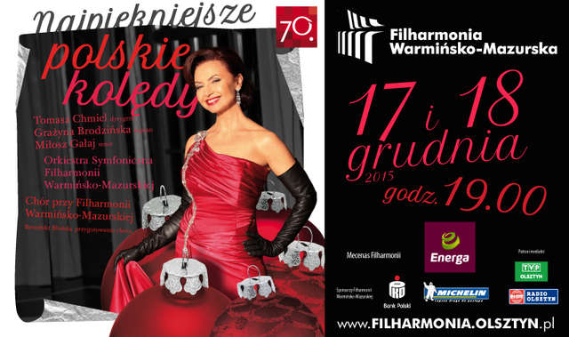 Najpiękniejsze polskie kolędy w sali koncertowej Filharmonii - full image
