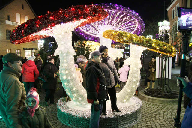 VII Warmiński Jarmark Świąteczny. Kolorowa starówka w Olsztynie [FILM I ZDJĘCIA] - full image