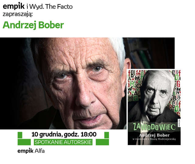 Spotkanie autorskie z Andrzejem Boberem - full image