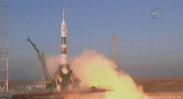 Rosyjski statek kosmiczny wystartował z misją na ISS - full image