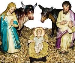 Boże Narodzenie to czas narodzenia Jezusa - a nie festiwal mikołajów, elfów, wróżek, skrzatów, bombek.