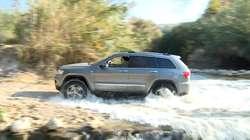 Kamienie, woda czy skały magmowe. Z takimi nawierzchniami zmierzyły się auta marki Jeep