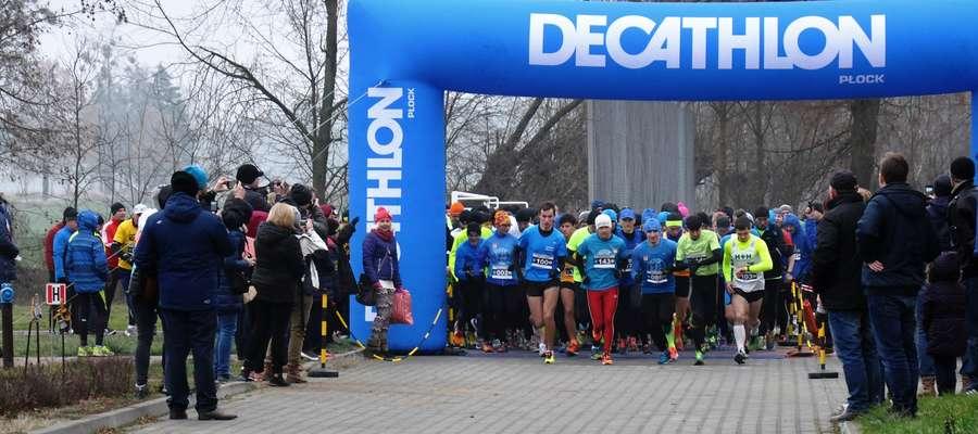 Na starcie głównego biegu stanęło 156 zawodników