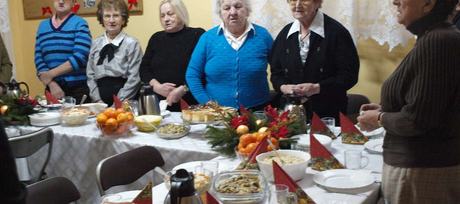 Wigilia dla samotnych w Caritasie