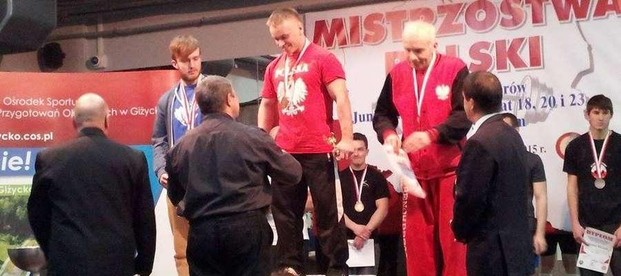 Mariusz Grotkowski – mistrz Polski z Chamska