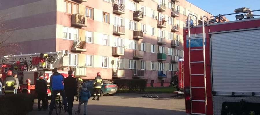 Strażacy bardzo szybko ugasili pożar