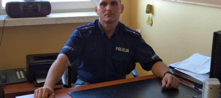mł. asp. Piotr Goszczyński – najpopularniejszy dzielnicowy 2015 roku