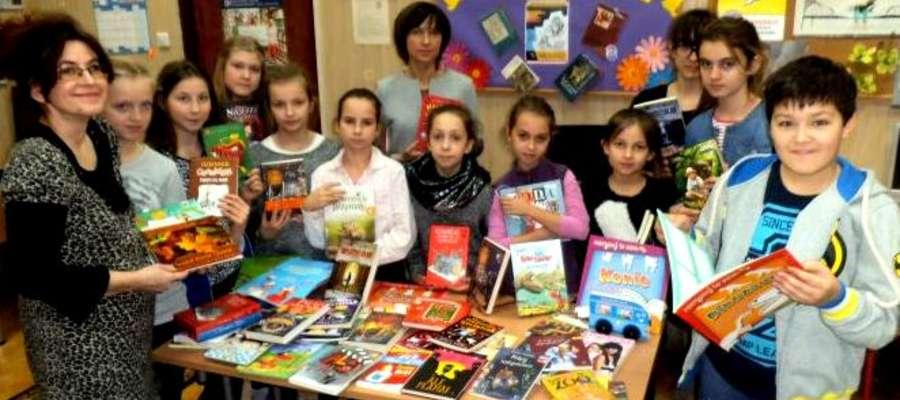 Uczniowie sami wybrali książki do biblioteki