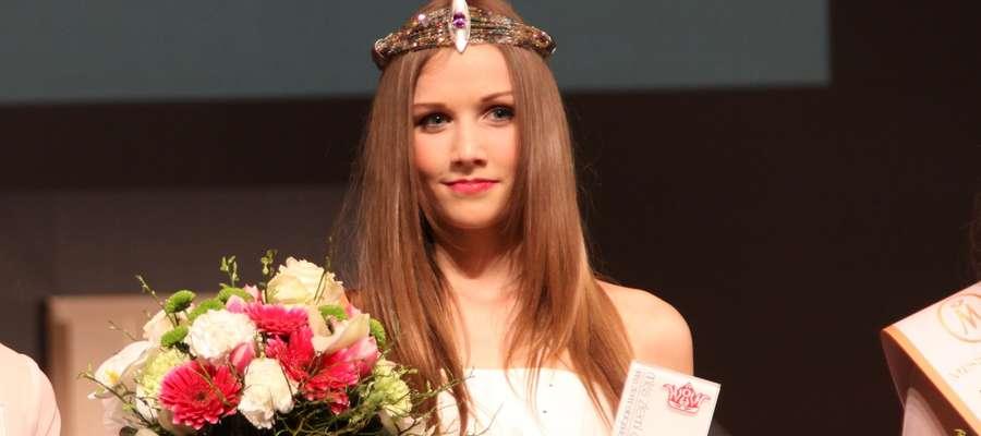 Anna Cichońska zdobyła tytuł Miss Ziemi Elbląskiej 2015