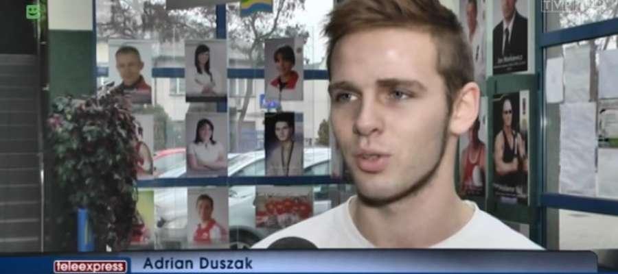 Kadr z wydania Teleexpressu w TVP