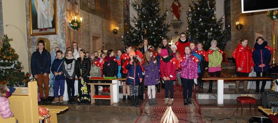 Świąteczna atrakcja w kościele w Mrocznie