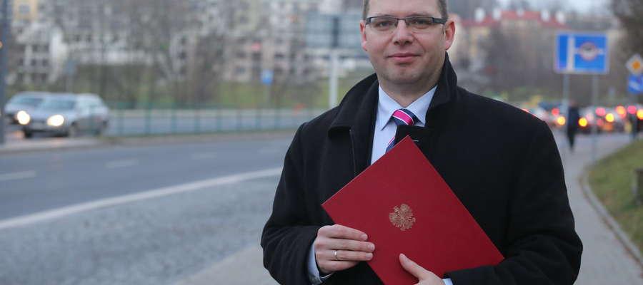 Wojewoda Artur Chojecki poinformował media o wpłynieciu wniosku zarządu powiatu kętrzyńskiego.