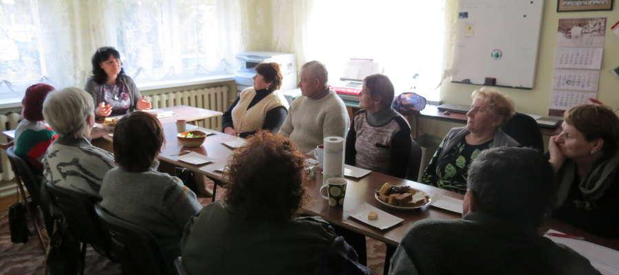 Spotkanie SurerSeniorClubu z Ewą Lubińską