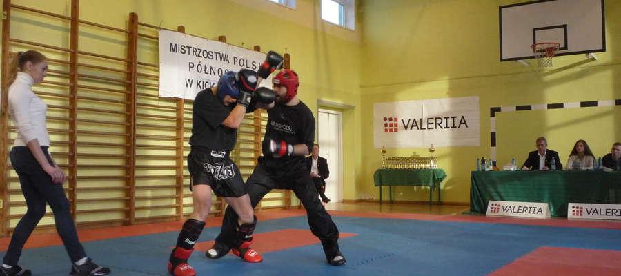 Kickboxerskie zmagania podczas mistrzostw w Gdańsku