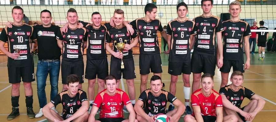 Nasi siatkarze zostali zwycięzcami turnieju w Mławie