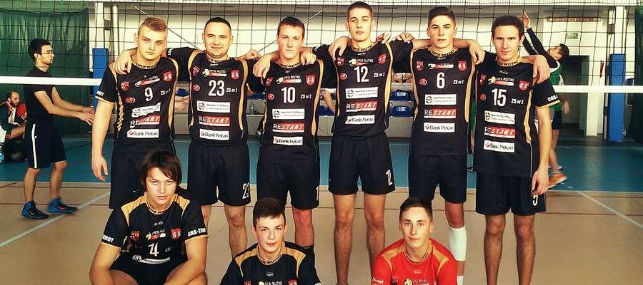 Zespół UKS Rutki Płońsk na turnieju w Płocku