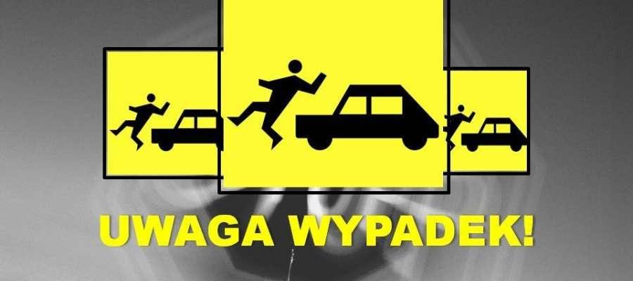 Do potrącenia pieszego na drodze w Chociszewie doszło w godzinach wieczornych. Poszkodowany nie miał na sobie żadnych elementów odblaskowych