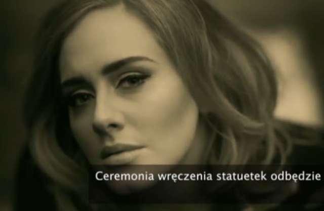 Adele uświetni swoim występem ceremonię rozdania nagród Grammy - full image