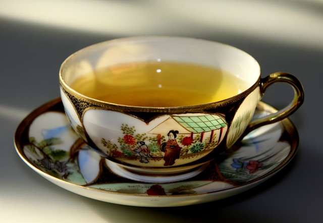 Zdrowia zielona herbata - full image
