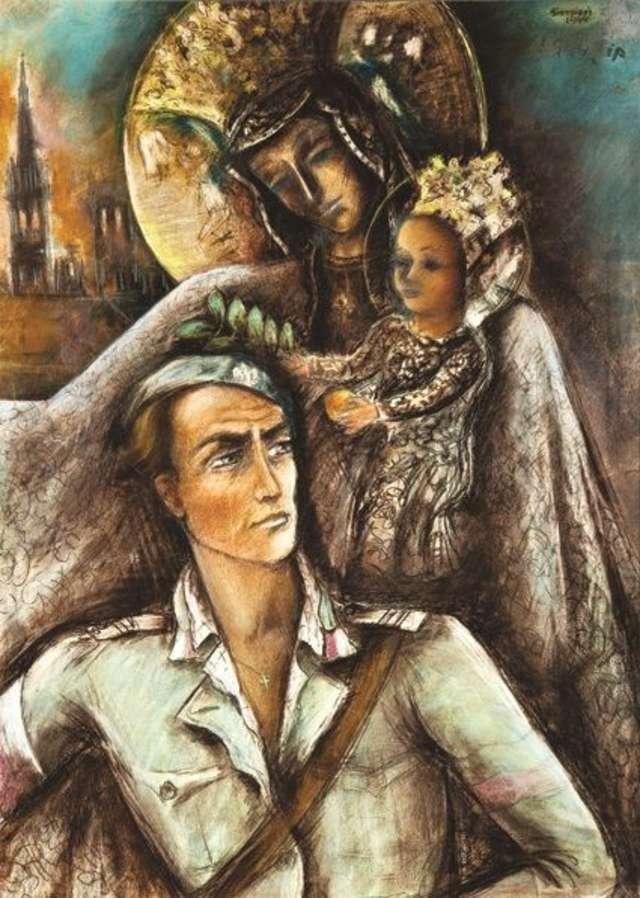 Matka Boska AK - historia nieznanego obrazu - full image