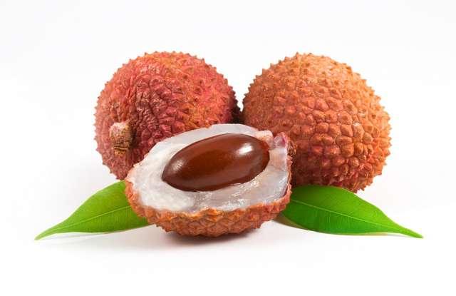 Zdrowie w owocu liczi - full image