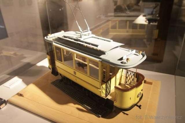 Model pierwszego olsztyńskiego tramwaju z 1907 roku - full image