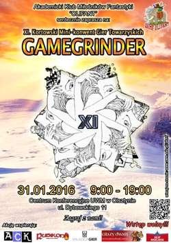 Mini-Konwent Gier Towarzyskich GAMEGRINDER