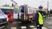 Tramwaj śmiertelnie potrącił pieszego na Sikorskiego w Olsztynie