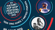 Tede oraz Sokół i Marysia Starosta na Mazury Hip-Hop Festiwal 2016!