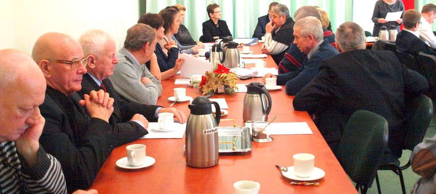 Większość sołtysów z gminy Kuczbork uczestniczy w sesjach rady. Czy to się nie zmieni, gdy będą otrzymywać dietę w ryczałcie?