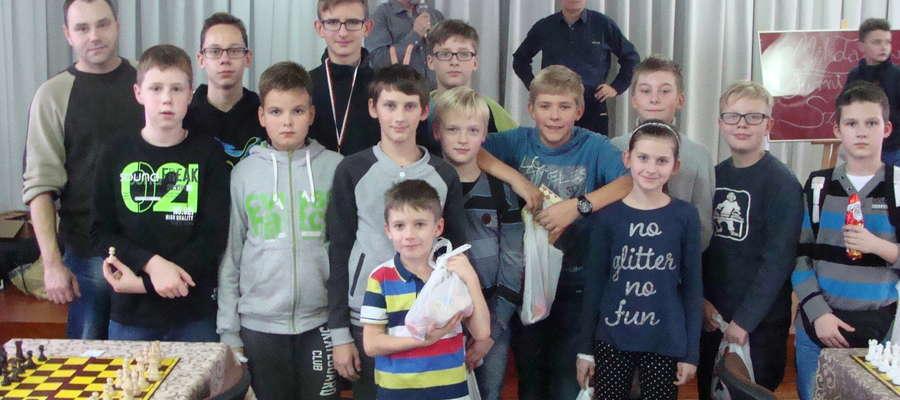 Grupa szachistów z Żuromina wzięła udział w turnieju w Nowym Mieście Lubawskim