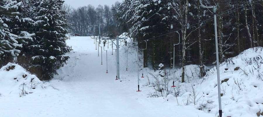 Wyciąg i stok w Lubstynku może być alternatywą dla bardziej obleganych i tłocznych ośrodków narciarskich w regionie