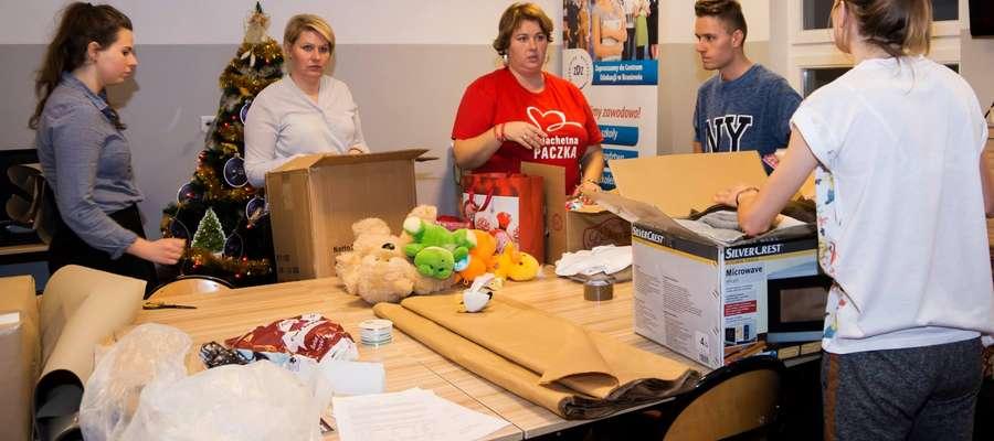 W tym roku po raz pierwszy Szlachetna Paczka zawitała do Braniewa. Blisko 20 wolontariuszy intensywnie pracowało od września