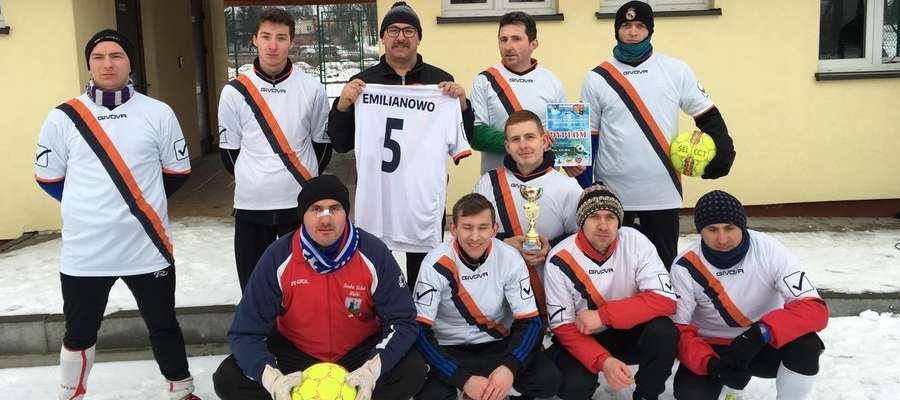 Turniej wygrała drużyna reprezentująca Emilianowo