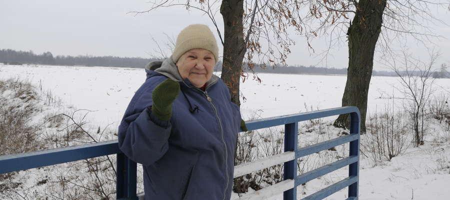 Hanna Szczepankowska z Nadratowa nie chce pozwolić, żeby w Nadratowie pobudowano 40  kurników
