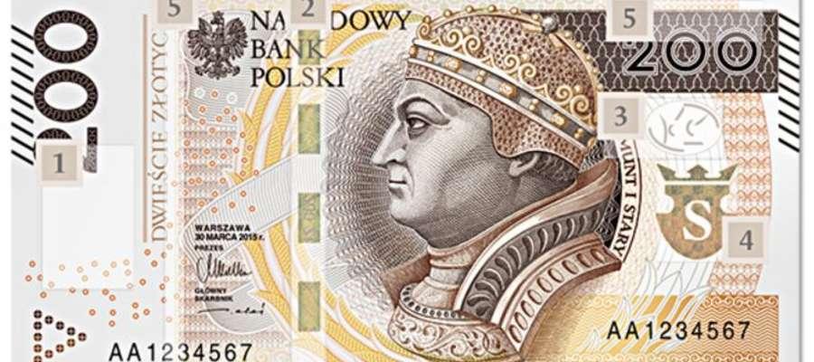 Nowy banknot o nominale 200 złotych