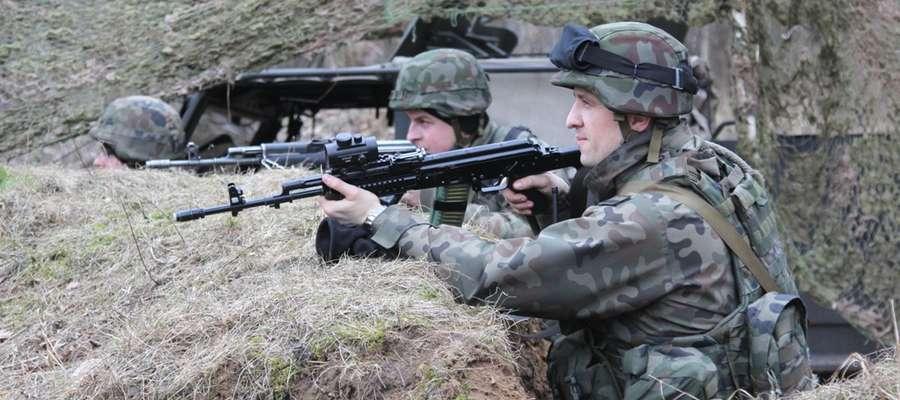 Otwarto punkty Wojsk Obrony Terytorialnej