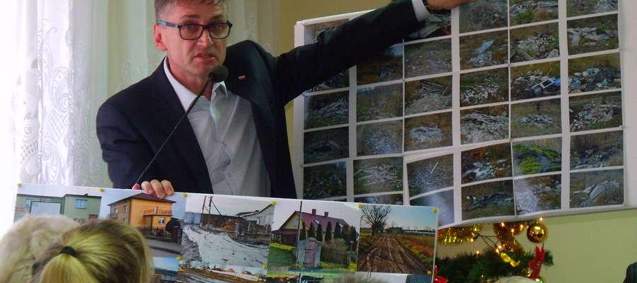 Demonstracja zdjęć posesji oburzyła radnych i sołtysów