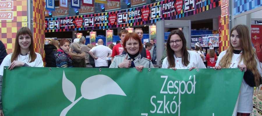 Uczennice z ZSZ w Warszawie