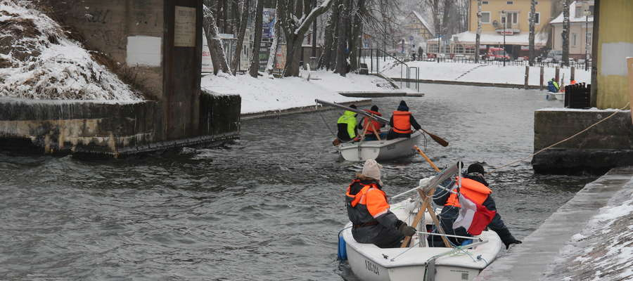 Mazury do zimowego żeglowania nie są przygotowane