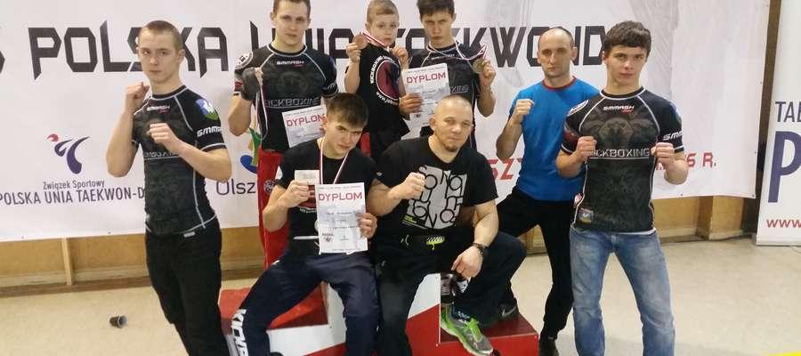 Kurzętniccy kickboxerzy