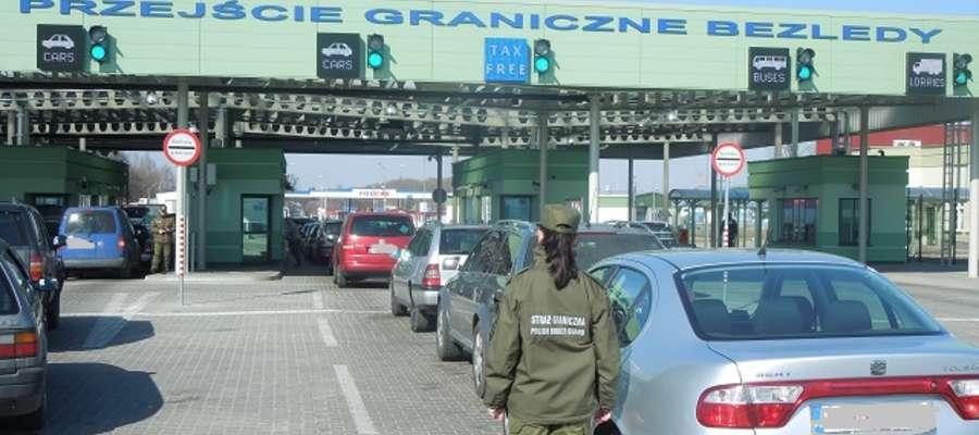 Drogowe przejście graniczne Bezledy - Bagrationowsk.