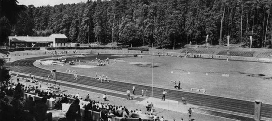 Stadion Leśny w Olsztynie w czasach swojej świetności