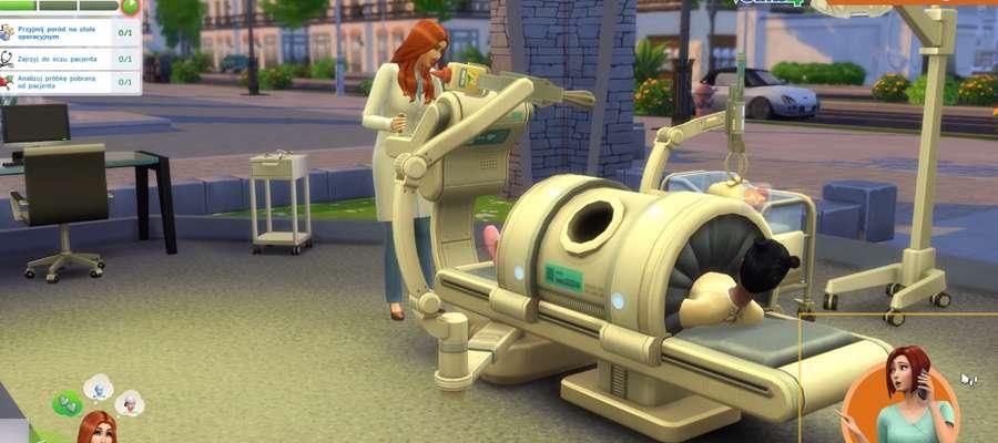 Fragment filmu promocyjnego The Sims 4: Witaj w pracy.